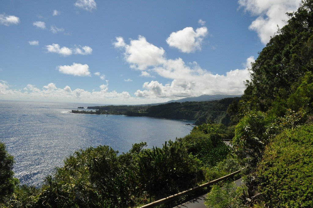 Road to Hana, near our penthouse studio rental at the Whaler
